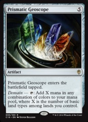 Prismatic Geoscope