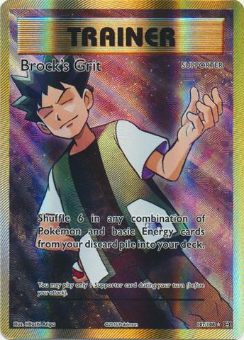 Brock's Grit - 107/108 - Full Art Ultra Rare