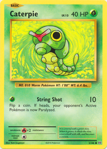 Caterpie - 3/108 - Common