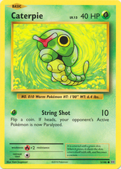 Caterpie - 3/108 - Common on Channel Fireball