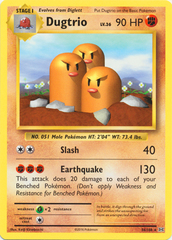 Dugtrio - 56/108 - Rare on Channel Fireball