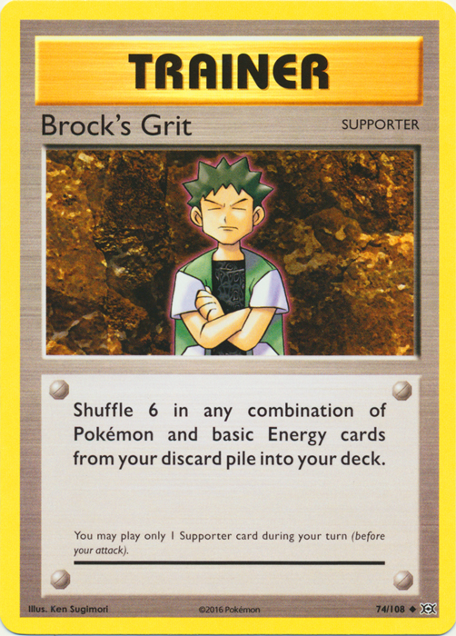 Brock's Grit - 74/108 - Uncommon