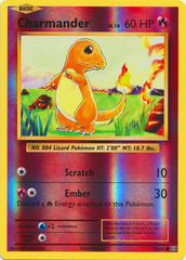 Charmander - 9/108 - Common - Reverse Holo on Channel Fireball