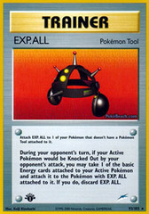 EXP.ALL - 93/105 - Rare - 1st Edition