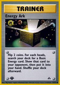 Energy Ark - 75/75 - Common - 1st Edition