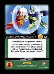Saiyan Dynamic Mastery - S20