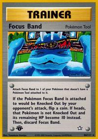 Focus Band - 86/111 - Rare - 1st Edition