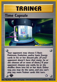 Time Capsule - 90/111 - Rare - 1st Edition