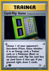 Card-Flip Game - 92/111 - Uncommon - 1st Edition