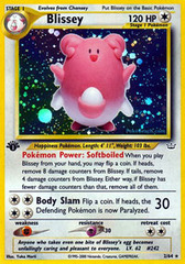 Blissey - 2/64 - Holo Rare - 1st Edition