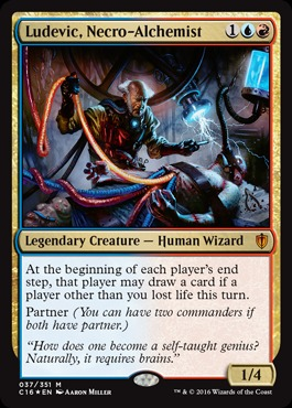 Ludevic, Necro-Alchemist - Foil