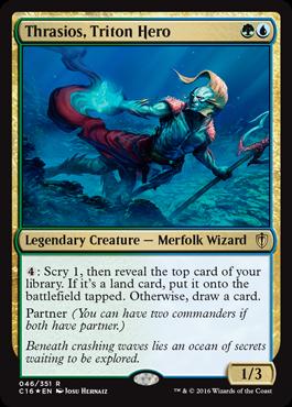 Thrasios, Triton Hero - Foil