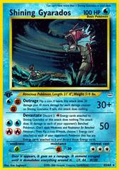 Shining Gyarados - 65/64 - Super Holo Rare - 1st Edition