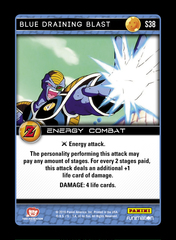 Blue Draining Blast - S38 - Foil