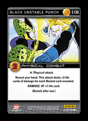 Black Unstable Punch - S138 - Foil