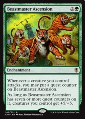 Beastmaster Ascension on Channel Fireball