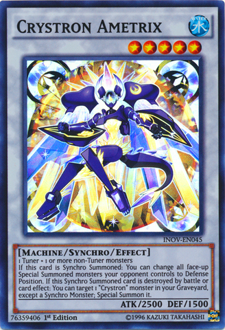 -  Common First ed Yugioh INOV-EN072 Crystron Impact