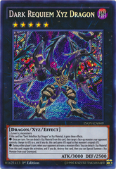 Dark Requiem Xyz Dragon - INOV-EN049 - Secret Rare - 1st Edition