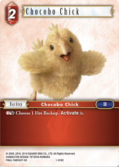 Chocobo Chick - 1-019C