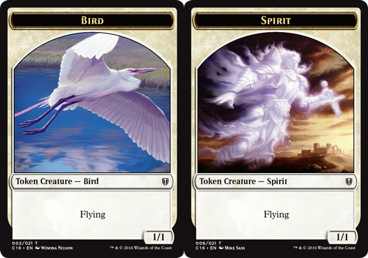 Bird Token // Spirit Token