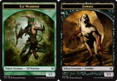 Elf Warrior Token // Zombie Token