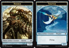 Artifact Creature Horror  // Thopter - Token (Colorless - Blue) Commander 2016