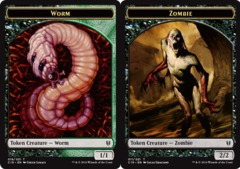 Worm Token // Zombie Token
