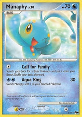 Manaphy - 3 - Rare on Channel Fireball