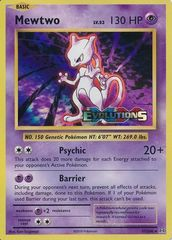 Mewtwo - 51/108 - XY Evolutions Prerelease Promo