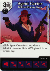 Agent Carter - Behind Enemy Lines (Die & Card Combo)