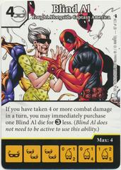 Blind Al - Fought Alongside Captain America (Foil) (Die & Card Combo)