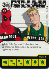 Bob, Agent of Hydra - The H Stands For Hopeless (Foil) (Die & Card Combo)