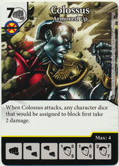 Colossus - Armored Up (Die & Card Combo)