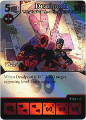 Deadpool - Why Isn't There a Hero Affiliation? (Foil) (Die & Card Combo)