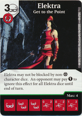 Elektra - Get to the Point (Die & Card Combo)