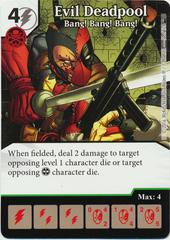 Evil Deadpool - Bang! Bang! Bang! (Die & Card Combo)