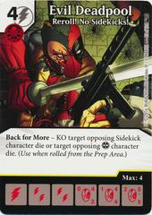 Evil Deadpool - Reroll! No Sidekicks! (Card Only)