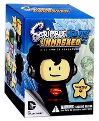 Scribblenauts Unmasked Series 4 Blind Box (Styles Vary) Mini Figure