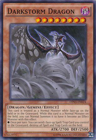 Darkstorm Dragon - OP03-EN024 - Common - Unlimited Edition