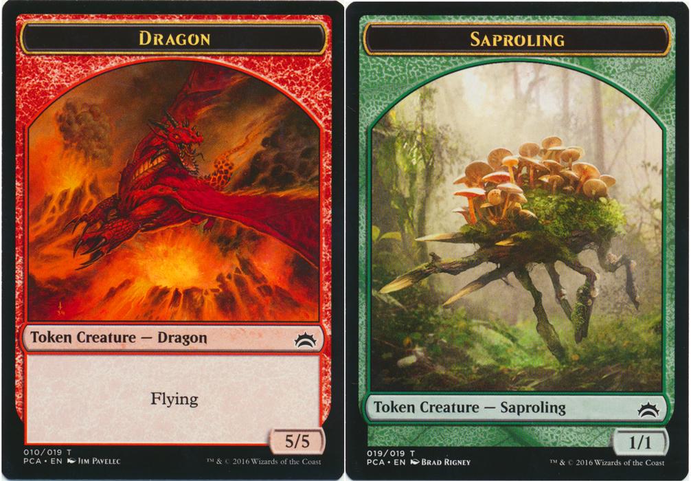 Dragon Token // Saproling Token