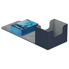 Ultimate Guard - Deck Case 80+ Sidewinder Xenoskin - Blue
