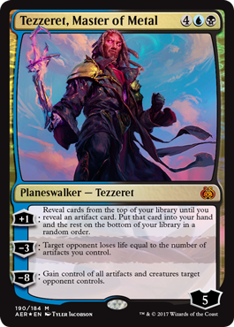 Tezzeret, Master of Metal (Planeswalker Deck Foil)