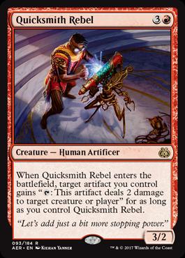 Quicksmith Rebel - Foil