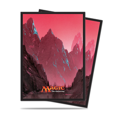 Ultra Pro Sleeves: Magic the Gathering Mana Series 5 Mountain (80ct)