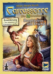 Carcassonne Expansion 03: The Princess & the Dragon