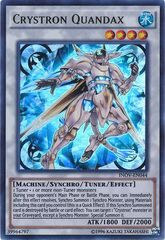 Crystron Quandax - INOV-EN044 - Ultra Rare - Unlimited Edition