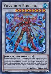 Crystron Phoenix - INOV-EN046 - Ultra Rare - Unlimited Edition