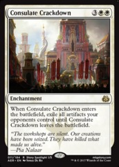Consulate Crackdown - Foil