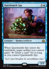 Quicksmith Spy - Foil on Channel Fireball