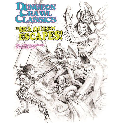 Dungeon Crawl Classics #75: The Sea Queen Escapes (Sketch Cover)